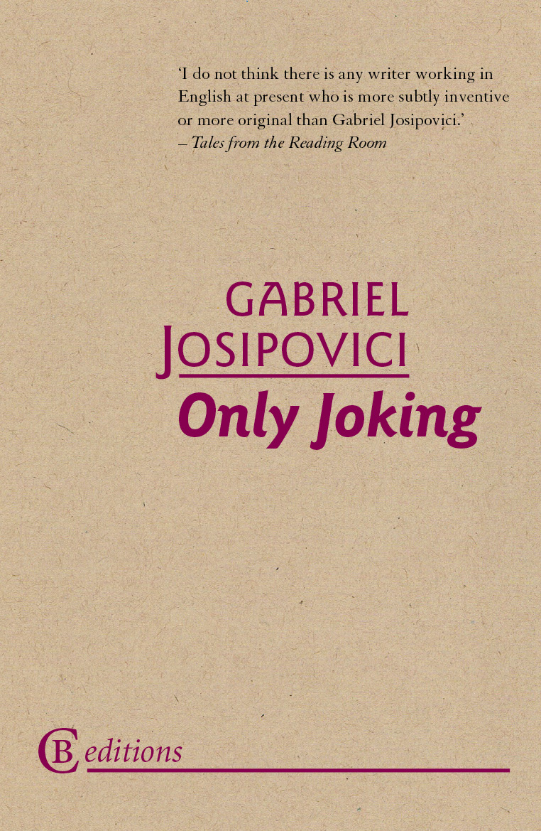 Image of cover of Josipovici