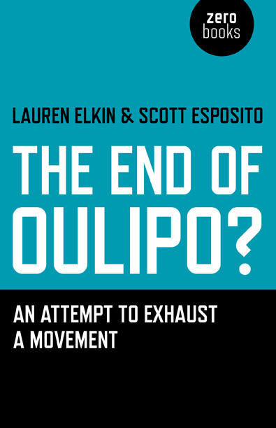 Image of cover of Oulipo