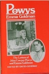 Image of cover of The Letters of John Cowper Powys and Emma Goldman
